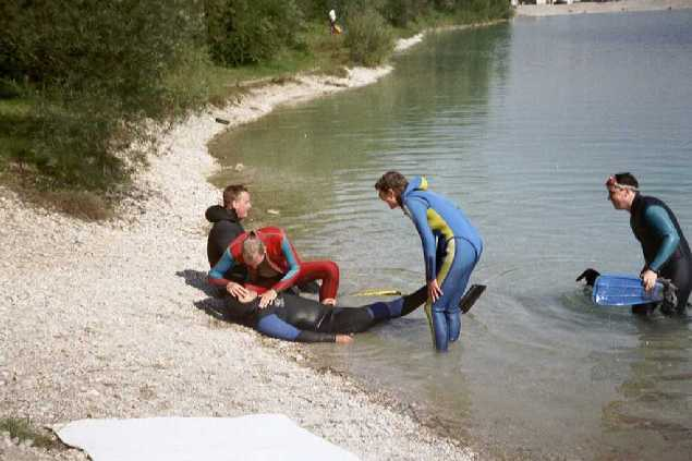 Rescue am Pullinger Weiher – MTSF e V